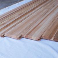 唯一杉柾目のフローリング材。 無節・本実加工の日田杉板。  【寸法】 長さ1800〜1940mm×厚...