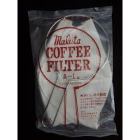 ネルドリップ マルタ コーヒーフィルター A-1(1人~3人用)フィルター3枚、金具つき コーヒー専門 通販 ランキング