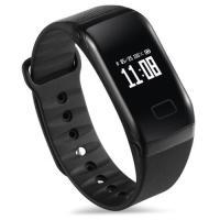 【健康管理 スマートヘルスウォッチ】腕時計型の本体内側にセンサーを搭載。防水仕様なのでいつもの生活を...