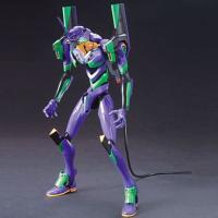 基本のプロポーション、腹部、腿部、頭部、肩は新劇場版「破」のバージョン。緑部分は蛍光材を使用し、発光...
