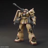 『機動戦士ガンダムTHE ORIGIN MSD』より、ザク・ハーフキャノンが初HG化。特徴的な背面武...