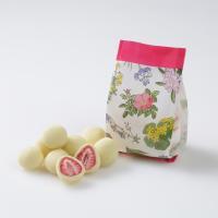 六花亭 ストロベリーチョコ ホワイト 袋入 スイーツ お取り寄せ 北海道 お土産
