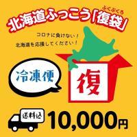 北海道ふっこう「復袋」 10,000円 <冷凍便>【送料込み】(福袋) 北海道物産店 北海道支援 ※準備出来次第の発送のため、お届け日の指定はできません