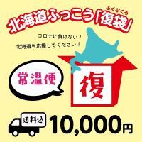 北海道ふっこう「復袋」 10,000円 (常温便)【送料込み】福袋 北海道物産店 北海道支援 ※準備出来次第の発送のため、お届け日の指定はできません