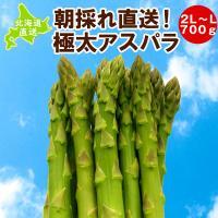 ■北海道産朝採れグリーンアスパラ ■2L〜Mサイズ・不揃い・1kg ■北海道より直送します  甘くて...