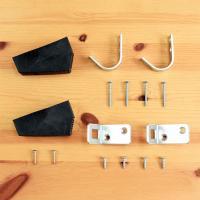 北欧ラダー用の追加金具です。 ・J型フック1セット(2個) ・L型金物1セット(2個) ・プラスチッ...