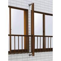リーズナブルな価格帯で様々な納まりに対応できる、スタンダードな窓用てすりです。窓用手摺り・後付施工・...