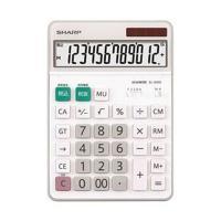 【商品名】SHARP(シャープ) 卓上大型電卓 型番:EL-S452-X 関連キーワード: 送料無料...