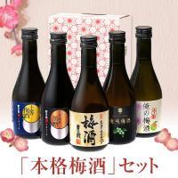 梅酒 ギフト 梅酒飲み比べセット 化粧箱入り (300ml×5本) 本坊酒造
