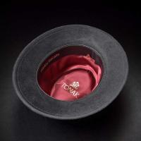 帽子/高級フェルトハット/TONAK(トナック)/RAFFINE(ラフィーネ)チェコ製中折れハット/メンズ・レディース