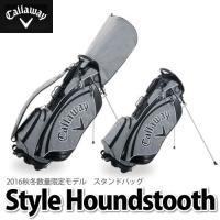 ★ Callaway Style Houndstooth standbag   キャロウェイスタイル...
