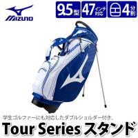 ★ mizuno 5LJC172300(WM) MIZUNO Tour Series Stand ゴ...