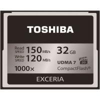 東芝 TOSHIBA CF メモリーカード CompactFlashカード EXCERIA 32GB...