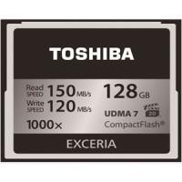 東芝 TOSHIBA CF メモリーカード CompactFlashカード EXCERIA 128G...