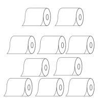 【お買得な10巻セット】  ●品質の安定した日本製 ●北海道の工場で製造 ●メーカー純正と同じ紙質に...