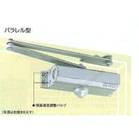 品番:P−182 パラレル型 ストップ付 シルバー 適用ドア:木製、アルミ扉 900X2100 45...