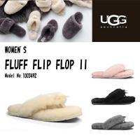 << UGG Australia FLUFF FLIP FLOP >>  ■...