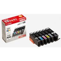 こちらの商品(Canon 純正 インク カートリッジ BCI-351XL(BK/C/M/Y/GY)+...