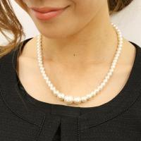 秋冬 秋 パールネックレス 模造真珠 セレモニー フォーマル 入学式 受験 七五三 レディース 単品メール便対応可
