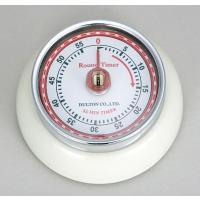 KITCHEN TIMER W/MAGNET IV キッチンタイマー ウィズマグネット アイボリー メディア紹介商品 ダルトン 100-189IV (S:0240)