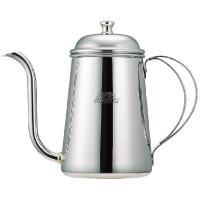 ●注ぎ口が細いコーヒーポットです。  ●ステンレス製ポットは錆が発生しにくく、変形にも強い特性があり...