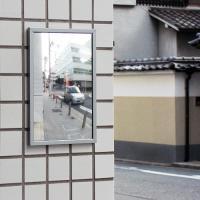 ●特殊加工の鏡面により、薄い平面型でありながらワイドな視界を実現します。 ●貼付、ビス止め両用タイプ...