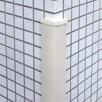 ガレージのコーナー、建物の柱・壁などに。 直角コーナー部に取付ける柱用の保護材(衝撃吸収材)です。角...