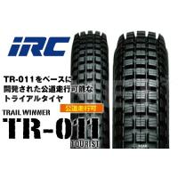 送料無料 XR230 スーパーシェルパ 250 セロー250 2.75-21 4.00-18 TR011 TOURLIST フロントタイヤ リアタイヤ 前後セット IRC
