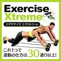 腹筋引き締め、上半身の筋力アップなど、これ1つで使い方色々、全身のエクササイズが可能!  簡単なエク...