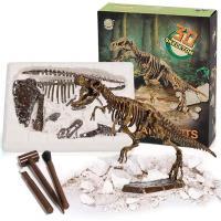 恐竜 発掘 化石 骨 おもちゃ プレゼント 子供 キット(ティラノサウルス)