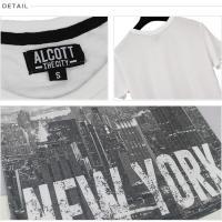ALCOTT アルコット Tシャツ メンズ 半袖 TEE アメカジ グラフィック TS6925 AC11498 正規品 本物保証 ゆうメール便送料無料