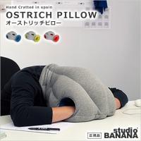 ユニークな見た目がインパクト抜群の枕、「オーストリッチピロー」。世界中にいる睡眠不足の人々に休息を取...