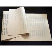 サイズ:縦26.5cm×横87.5cm  ●「観音経」の写経用紙です。  ●裏面に印刷された文字の上...