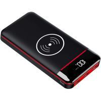 KEDRON モバイルバッテリー Qi ワイヤレス充電 24000mAh 大容量 置くだけ充電 無線...
