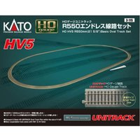カトー(KATO) 鉄道模型 HOゲージ 3-115 (HO)HV5 HOユニトラック R550エンドレス線路セット