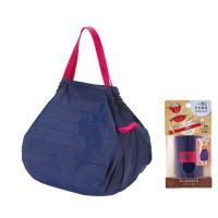 【発売元】 マーナ  【商品説明】 ●一気にたためるコンパクトバッグ ●荷物の重さでバッグの口がしぼ...