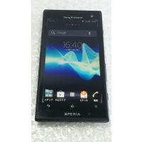 Xperia acro HD IS12S au ブラック 本体 白ロム 073579