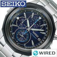 セイコー SEIKO 腕時計 ワイアード ザ・ブルー メンズ【型番】AGAW420【ケース】材質:縁...
