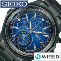 セイコー SEIKO 腕時計 ワイアード ザ・ブルー メンズ【型番】AGAW421【ケース】材質:縁...