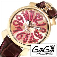 ガガ ミラノ GaGa MILANO 腕時計 レディース【型番】GG-50218【ケース】材質:ステ...