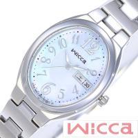 シチズン CITIZEN 腕時計 ウィッカ ソーラーテック レディース【型番】KH3-118-91【...