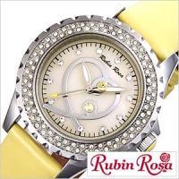 腕時計 ルビンローザ RubinRosa 【型番】R801YE【ケース】材質:ステンレススチール サ...