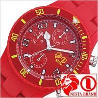 腕時計 ネスタブランド NESTABRAND 【型番】SMP40RE【ケース】材質:ポリカーボネイト...