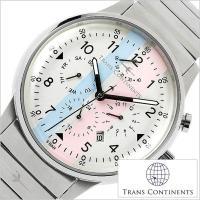 トランスコンチネンツ TRANS CONTINENTS 腕時計 メンズ【型番】TAQ-6601-02...