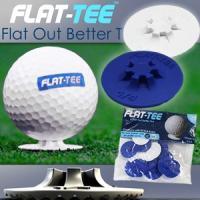 商品解説 Flat-Teeは、ゴルフプロがドライビングマットやティーグラウンドから アイアンやハイブ...