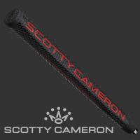 商品解説 スコッティキャメロンのMIDサイズグリップ、ブラック/レッド/ゴールド マタドール グリッ...