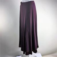 [sk114]スリット入り 足さばきのいいロングスカート 85cm 社交ダンス スタンダード ラテン モダン[メール便不可]