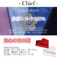 ふじやま織ネクタイ・チーフセット メンズ 紳士用 シルクネクタイ シルクチーフ セット 日本製 京都シルク 朱子織