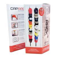 キャップコレクターさん必見!! 2本のベルトに帽子をかけるだけ、最大18個のキャップを一度にすっきり...