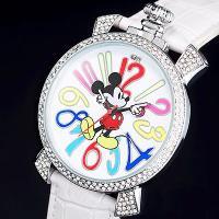 ◎内容:ミッキーのビックフェイス時計ホワイト、限定2000本。大きめな文字盤いっぱいにデザインされた...